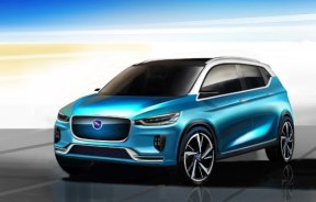 设计前卫 汉腾EV概念车上海车展亮相