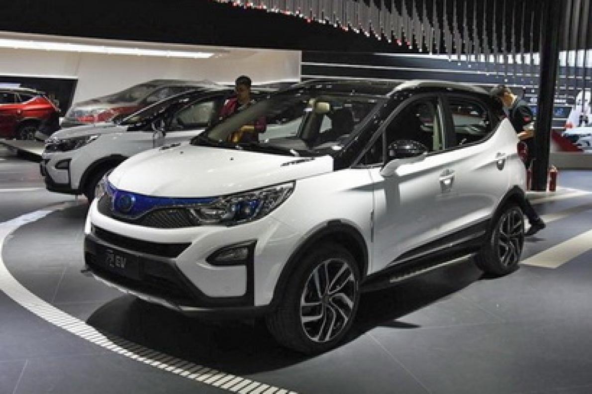2017上海车展:比亚迪元EV纯电动版发布