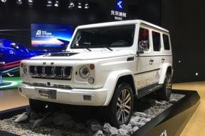 2017上海车展:北京BJ80插电混动版亮相