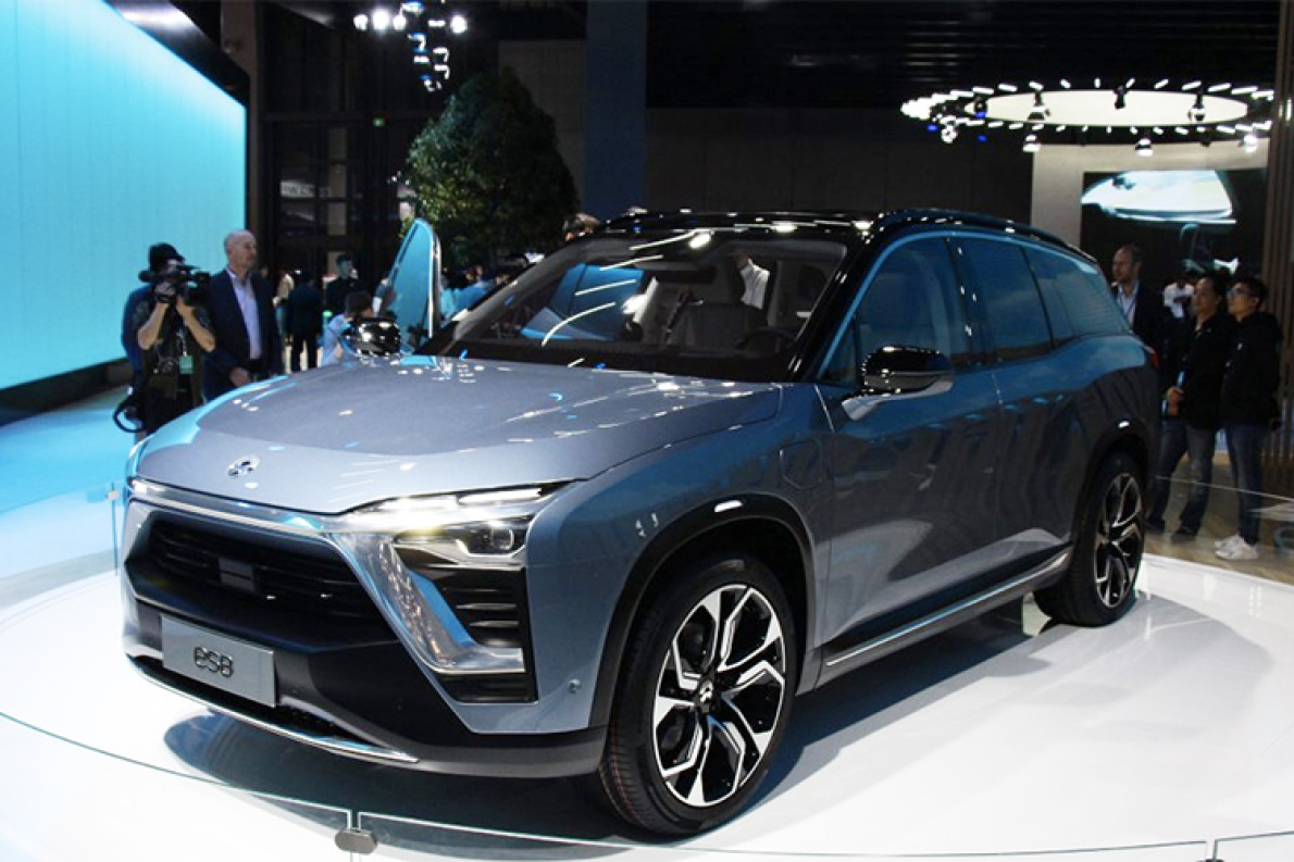 解读蔚来ES8纯电动中大型SUV