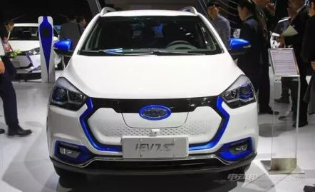 江淮iEV7S车型发布