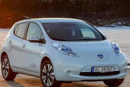 日产Leaf聆风电动汽车销量怎么样?