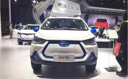 江淮iEV7E车型解析