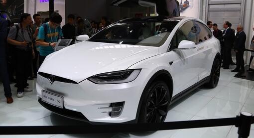 特斯拉Model X整体车型