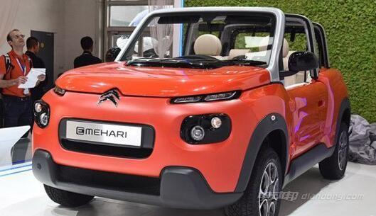 雪铁龙E-MEHARI概念车整体车型