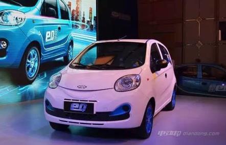 新能源电动汽车奇瑞eQ怎么样