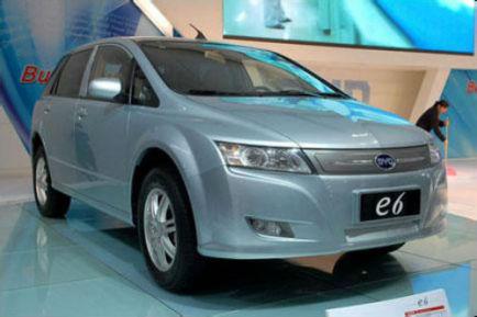 联合电动汽车比亚迪e6的车型介绍