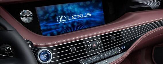 雷克萨斯LS 500h显示屏