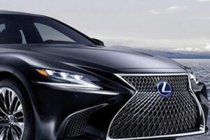 雷克萨斯LS 500h混合动力汽车图片及介绍