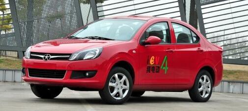 江淮和悦iEV4整体车型