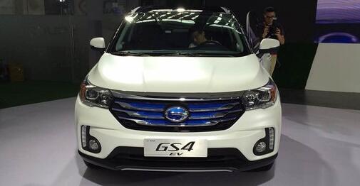 廣汽傳祺GS4 EV純電動車前臉