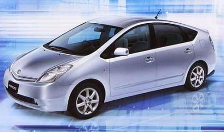 日系丰田普锐斯混合动力车的车型介绍