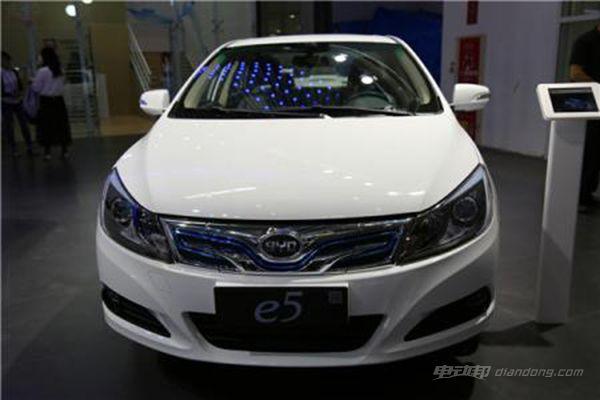国产紧凑型电动车车型推荐一:比亚迪e5