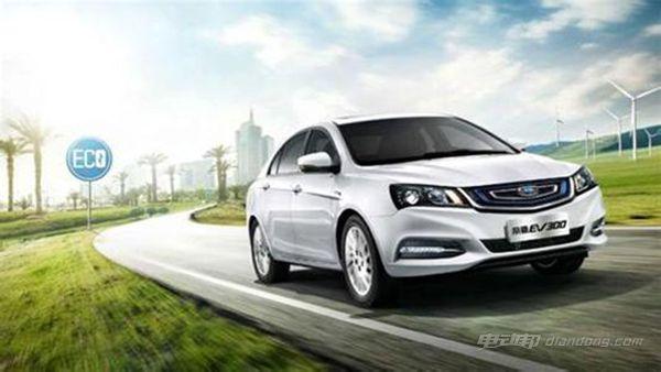 国产紧凑型电动车车型推荐三:帝豪EV