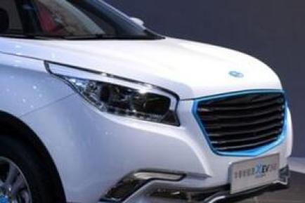 华泰XEV260纯电动SUV图片及介绍