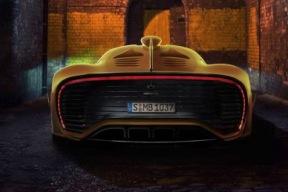 1.6T+4电动机 AMG Project One底盘细节