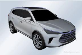 史上最漂亮的比亚迪SUV专利图曝光 量产在即