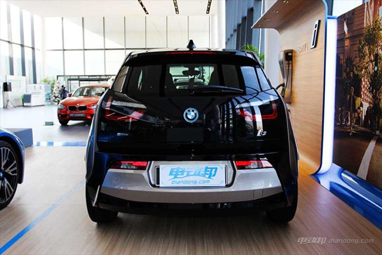 BMW i3黑色涂装