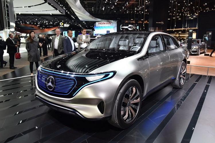 奔驰与北汽携手 50亿投产纯电动车
