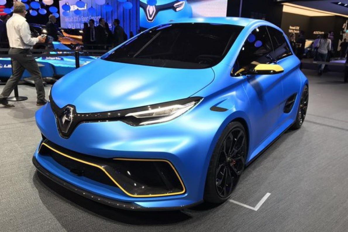 2020年前亮相 雷诺将推全新ZOE RS车型
