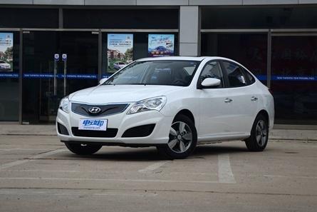2017款 北京现代 伊兰特EV 新能源汽车