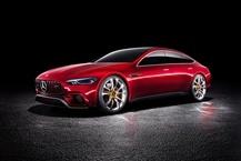 奔驰 AMG GT 电动汽车