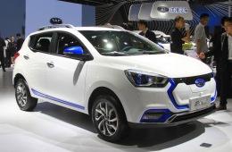 江淮iEV7S或成都车展亮相 纯电动小型SUV