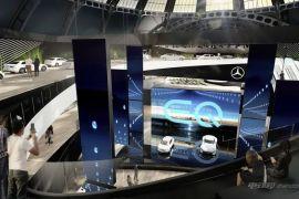 全新EQ电动概念车等 奔驰法兰克福车展阵容