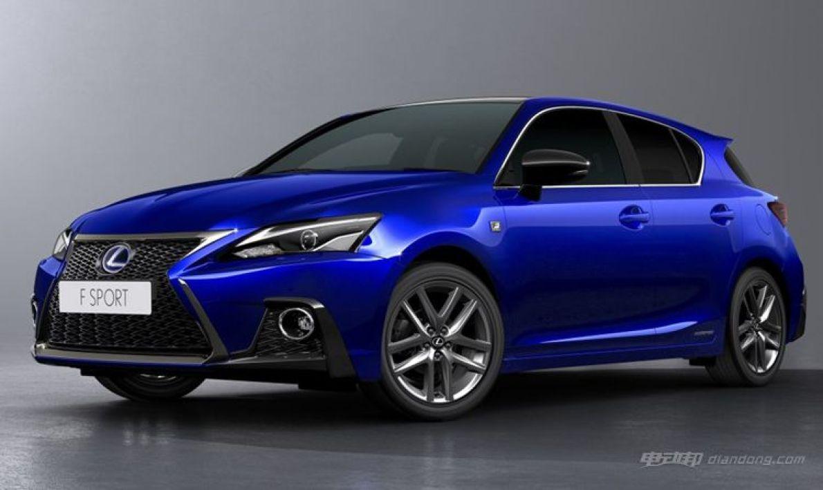 增配还F Sport 雷克萨斯新款CT200h售22.9万起