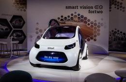 科技感爆棚 smart全新概念车正式亮相