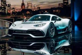 F1基因顶级跑车 AMG Project One正式发布