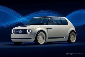 来自70年代的你 本田Urban EV概念车法兰克福车展发布