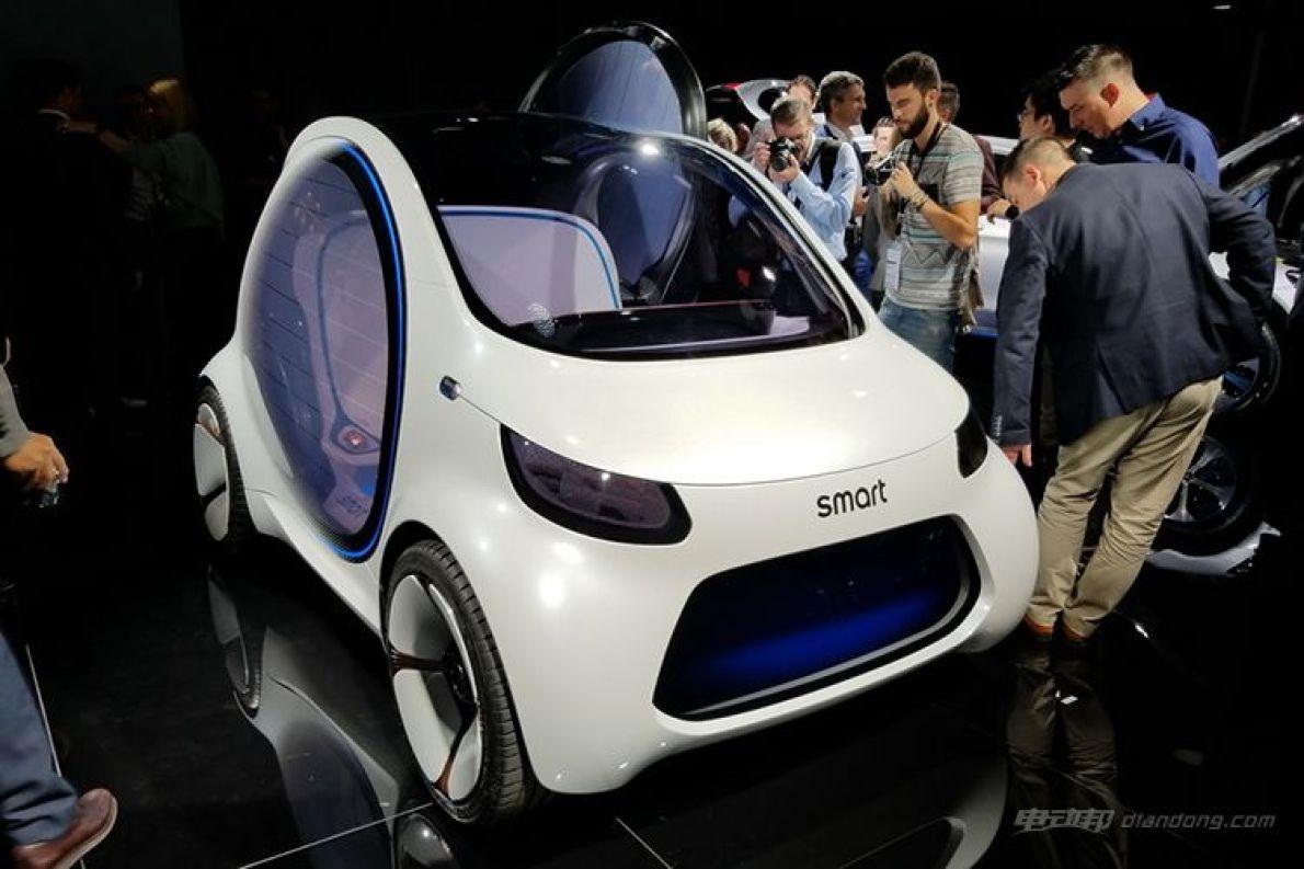 13年后的共享汽车是这样? smart Vision EQ fortwo正式发布