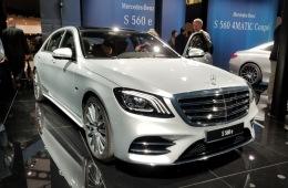 还可支持快充 插混新款奔驰S 560 e正式发布