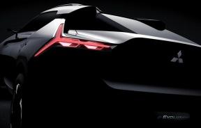 纯电动SUV 三菱e-EVOLUTION概念车预告