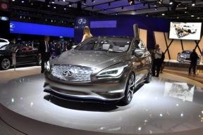 基于全新平台开发 英菲尼迪电动概念车2018年亮相
