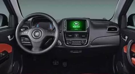 微型电动车知豆D2中控台