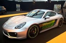 保时捷电动车产品的预演 Cayman e-volution世界电动车展览会首发