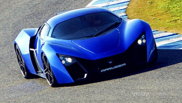 最快电动跑车车型推荐:柯尼赛格One-1