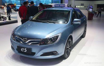 纯电动汽车比亚迪e5怎么样,纯电动汽车比亚迪e5介绍