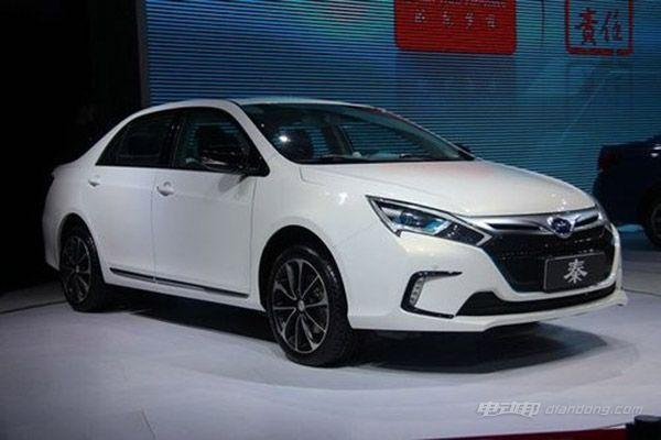 比亚迪新能源汽车车型推荐:比亚迪秦