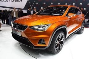 借鉴20V20概念车的设计 西雅特将推出Coupe造型SUV