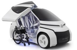 定位为微型车 丰田CONCEPT-爱i Ride概念车官图发布