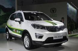 纯电小型SUV新选择 长安CS15EV300实拍解析