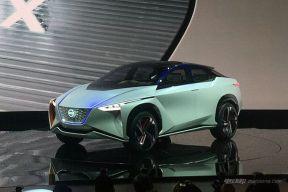 高智商的日产IMx概念SUV东京车展发布 超长续航达600km