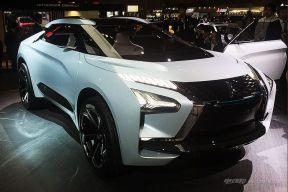 电气化钢炮来了 三菱e-EVOLUTION概念车东京车展发布