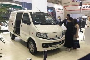 最大续航245公里 东风俊风EM10亮相2017武汉商用车展