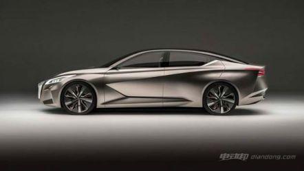 日产新聆风纯电动概念车,颜值不输特斯拉