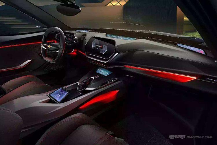 FNR-X概念车内饰官图