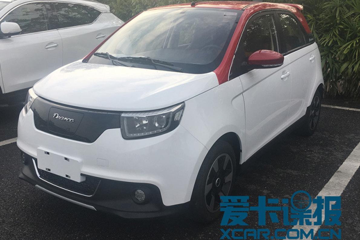 2017广州车展馆外看新车 电咖·EV10提前登场